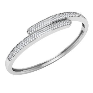 STYLISH | White Diamonds Bracelets | Classic White Gold