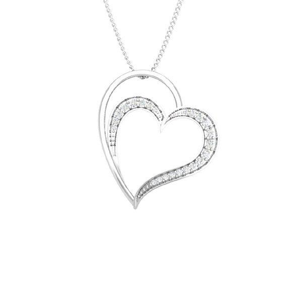 Lovers Heart | Praadis Heart Pendant | Lover Heart Pendant