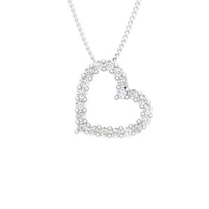 BALERE | Affetto Collection | Heart Diamond Pendant