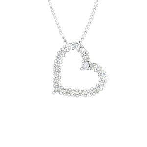 BALERE | Affetto Collection | Heart Diamond Pendant