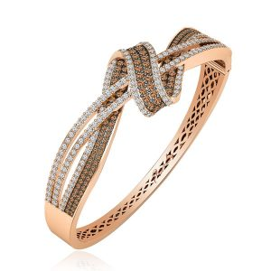 Rose Gold Bracelet | ARMA | Brown Diamond Bracelet