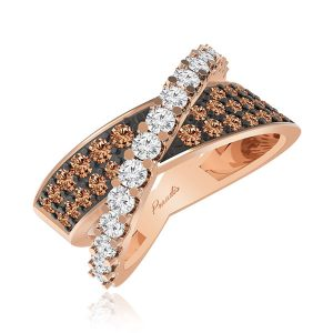GAMILA COCKTAIL RING | 14 Kt Rose Gold | Praadis