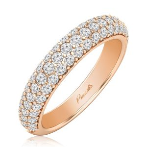 ARELA, Diamond Ring | Chocolatte Occasion | 14 Kt Rose Gold