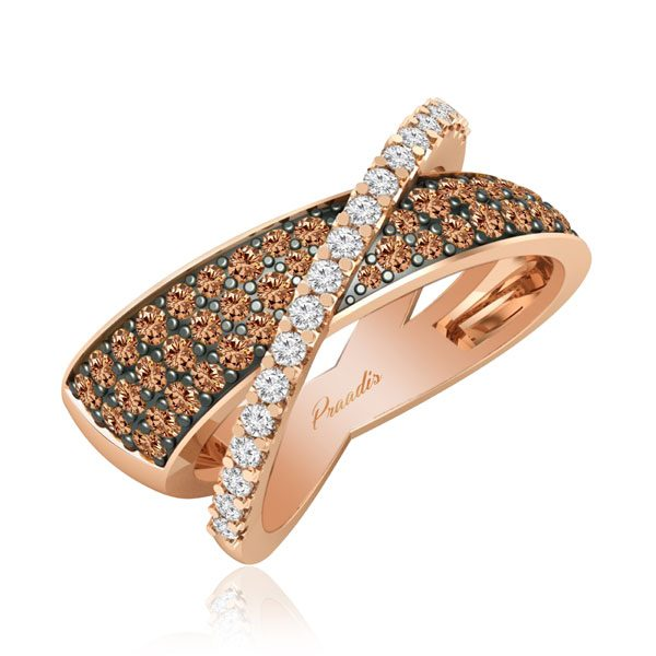ARELLA | Classic Diamond Ring | 14kt Rose Gold