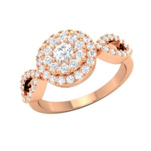 Classic Diamond Rings | LALE | White diamonds | Praadis