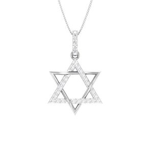 Spritual Diamond Pendant | BAKENE-1 | Spritual White diamonds Pendant