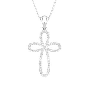 Diamond Pendants | SERENITY | 14Kt White Gold