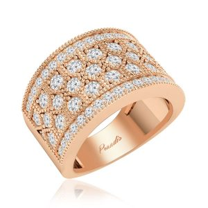 Cocktail Ring Collection | LOUISA | 14Kt Rose Gold