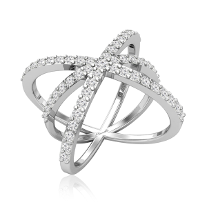 Cocktail Diamonds Ring | AMINAH-1 | Praadis Luxury Division