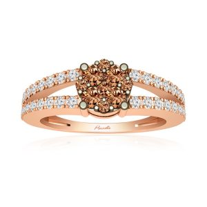 Chocolatte Occasion Rings | SCINTILLATE | 14kt Rose Gold