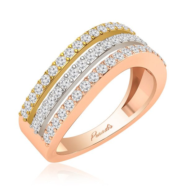 Cocktail Rings Collection | ELISHA | 14Kt Rose Gold