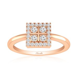 Cluster Rings Collection | RELISH | 14kt Rose Gold