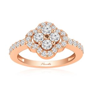 SHEEN White Diamonds Ring | 14kt Rose Gold | White Diamonds