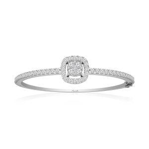 Classic Diamond Bangles | SINI | 14 Kt White Gold