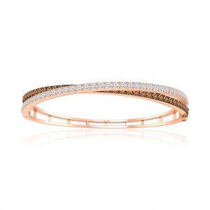 Classic Diamond Bracelets | NINA | 14kt Rose Gold