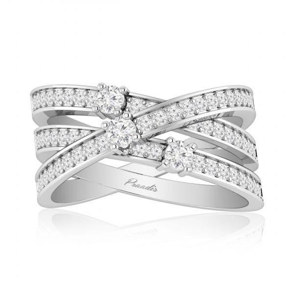 INARA White Gold Diamond Ring