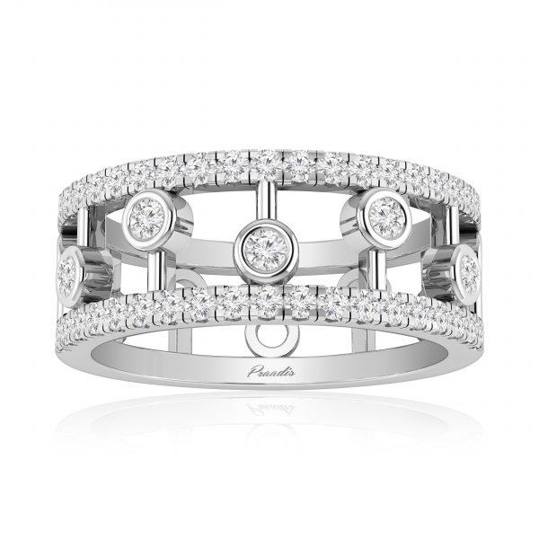 NERIA White Gold Diamond Ring