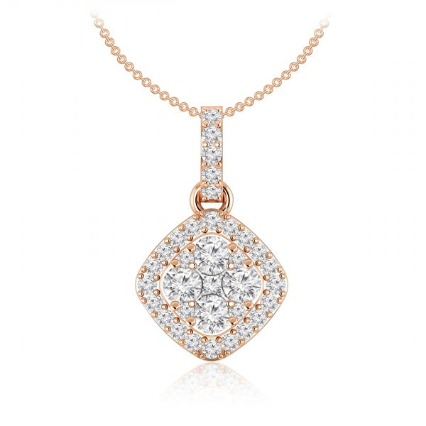 Dulcie Cluster | White Diamond | 14Kt Rose Gold | Praadis