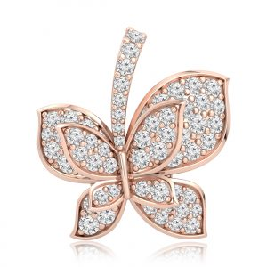 ELYSIA Rose Gold Diamond Pendent