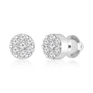 ALINA Diamond Stud Earrings